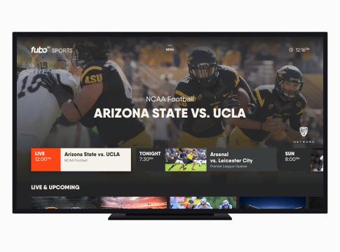 fuboTV Is Now Apple TV's Top Sports App