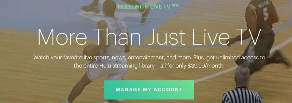 hulu with live tv fox sports arizona live