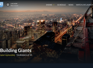 Building Giants on Science Channel
