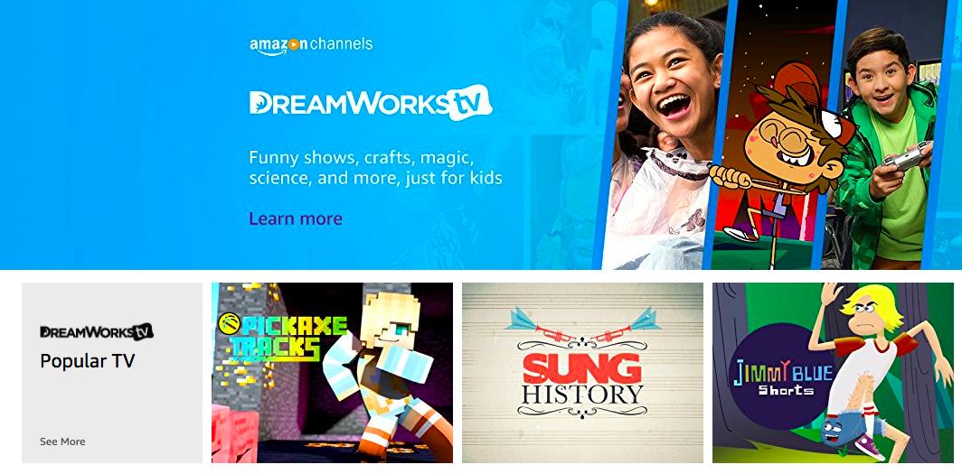 DreamWorksTV on Amazon