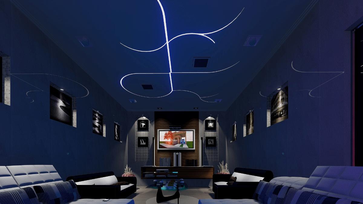 Free 4k tv s future demonstrated in north carolina - Gaming zimmer deko ...