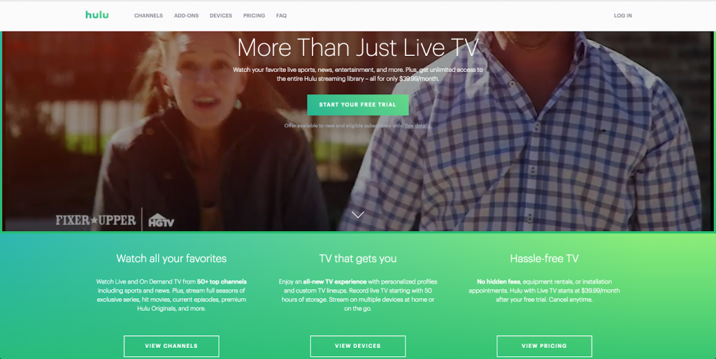 hulu with live tv cable cord-cutting alternatives watch live amazon fire tv