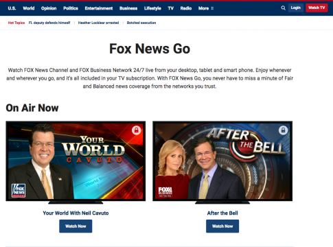 fox news streaming amazon fire tv cable alternative cord-cutting