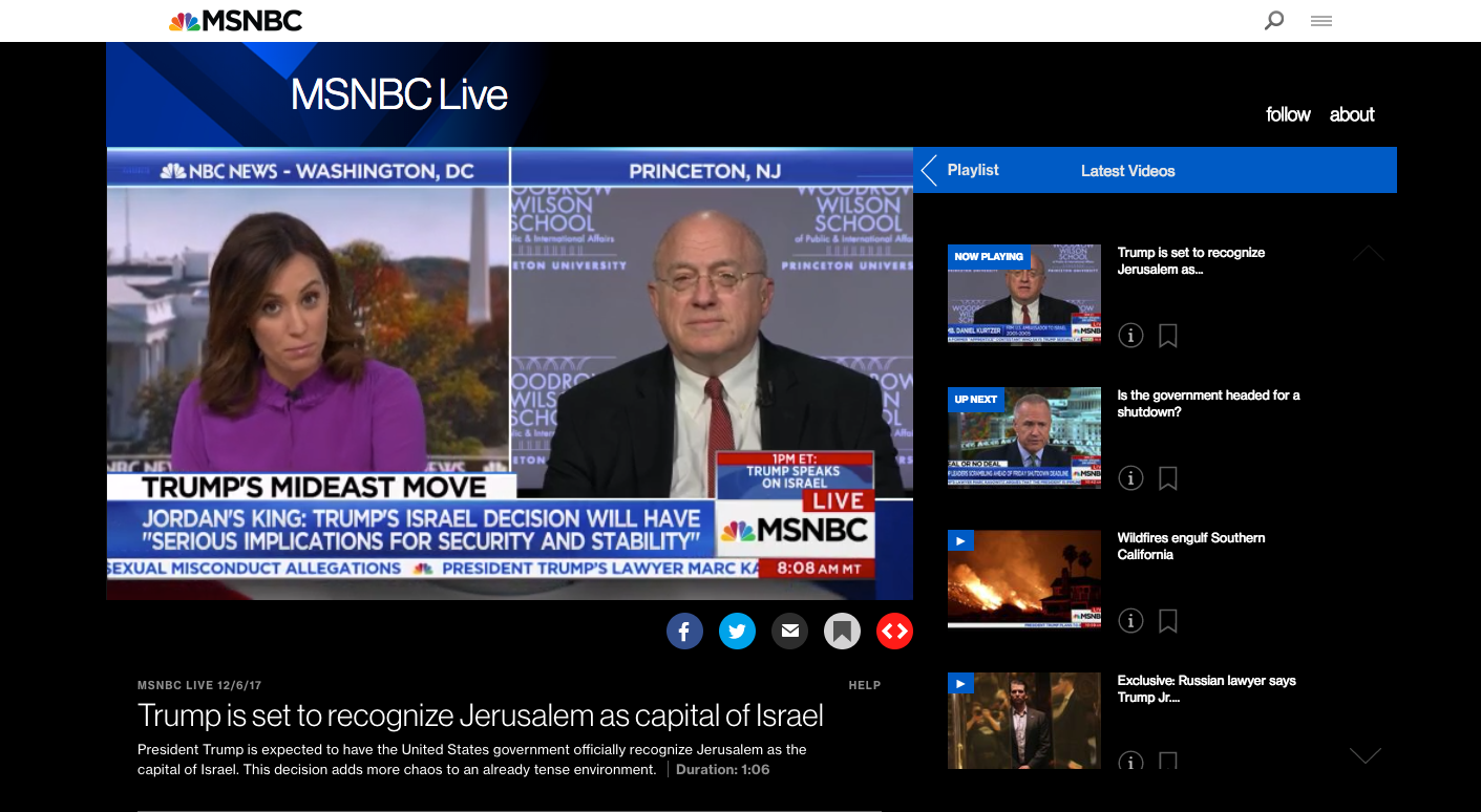 How To Watch Msnbc Live On Amazon Fire Tv Without Cable