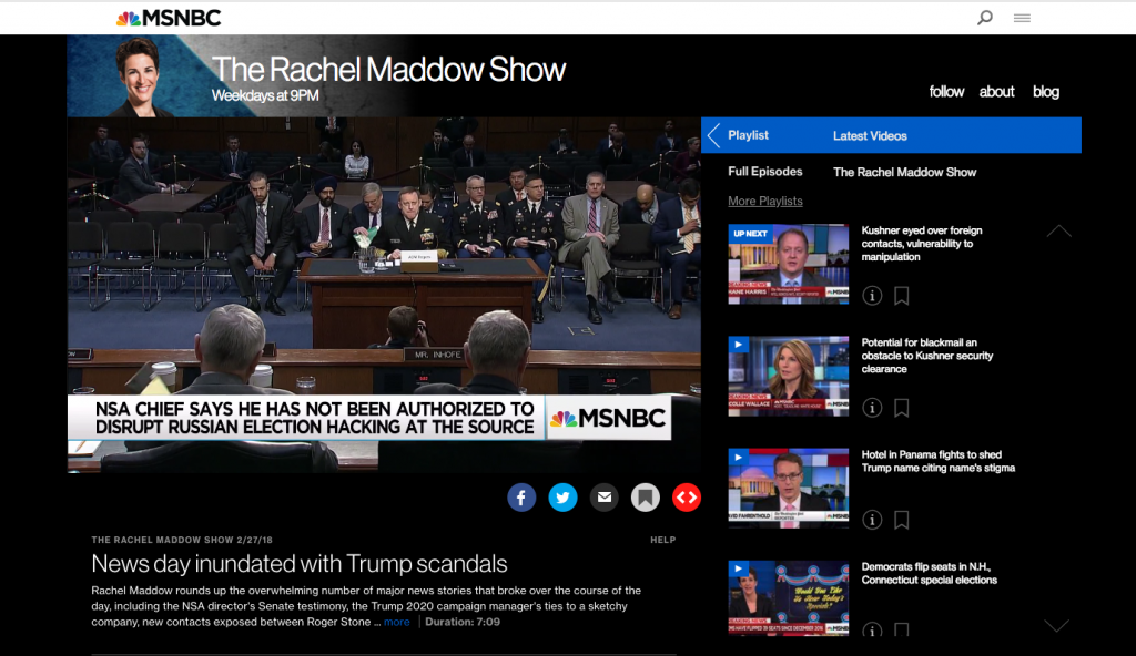 watch MSNBC streaming live without cable alternative cord-cutting amazon fire tv