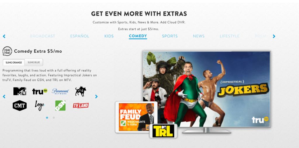 sling tv customize subscription vs. youtube tv alternatives cord-cutting cable