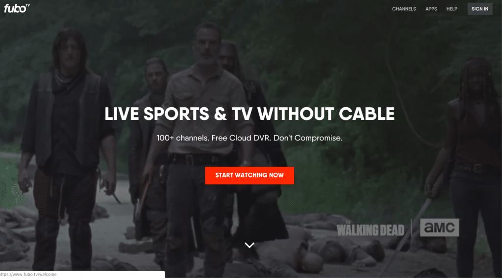 fubotv sling tv alternatives 2019