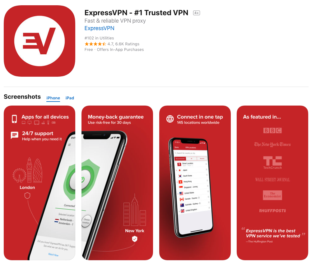 expressvpn for ios android mobile devices download watch tvplayer.com uk