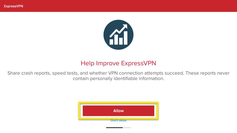 expressvpn crash reports sharing set up vpn american netflix amazon fire tv