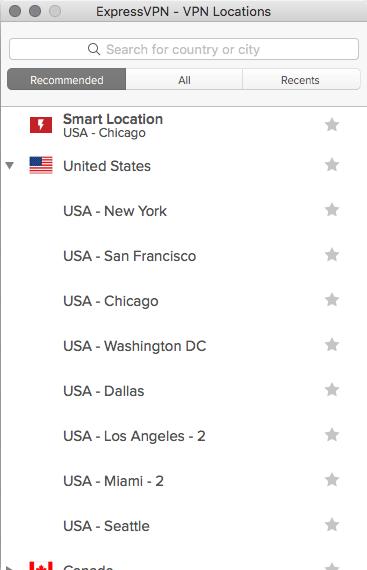 USA servers watch netflix in america ExpressVPN setup configuration
