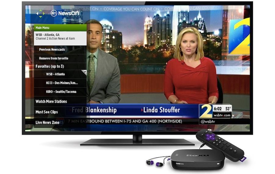 watch live tv on roku newson