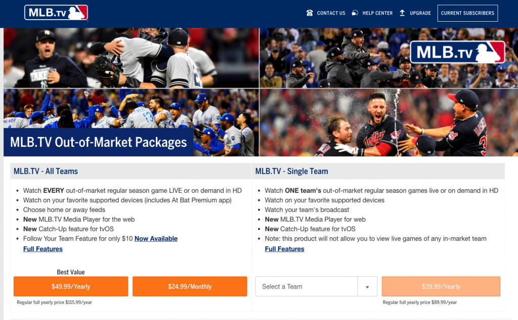 watch mlb baseball sports streaming websites alternatives cord-cutting cable