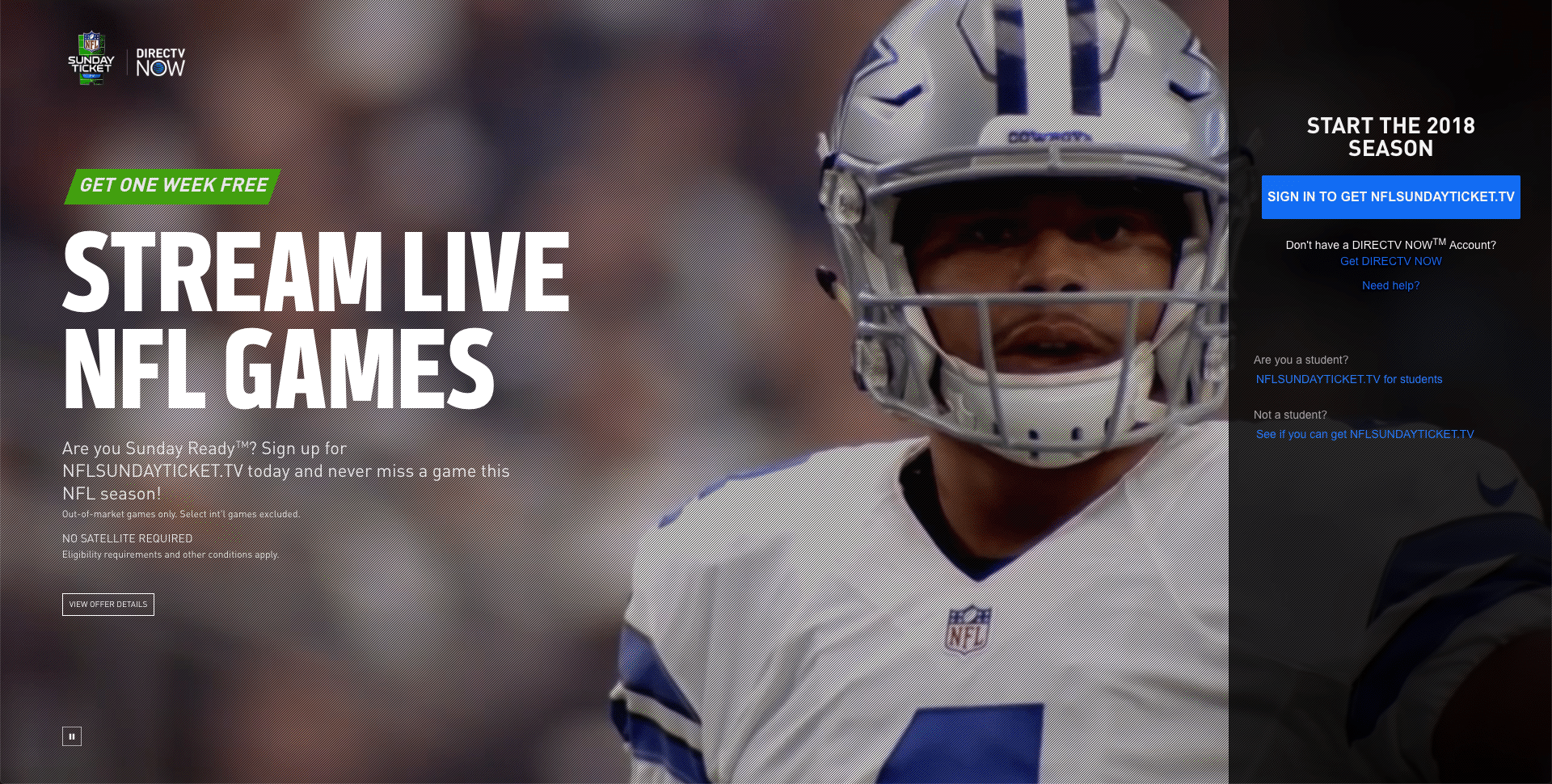What channel is Dallas Cowboys on Saturday night? - Answers
