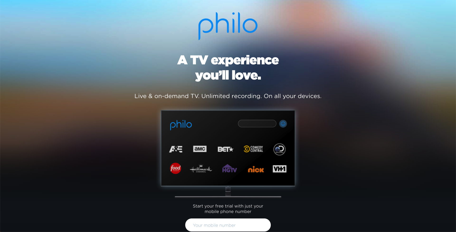 philo watch ae without cable