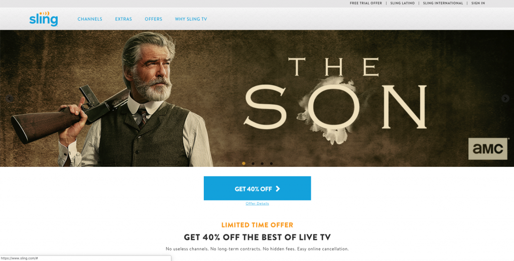 watch the discovery channel without cable sling tv