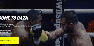 DAZN matchroom boxing