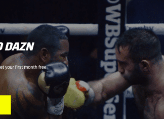 DAZN matchroom boxing