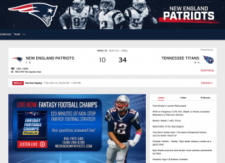 new england patriots games without cable
