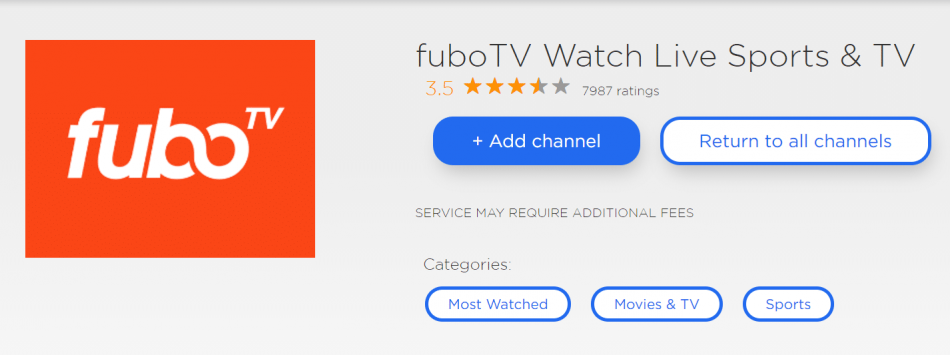 fubotv fox news roku