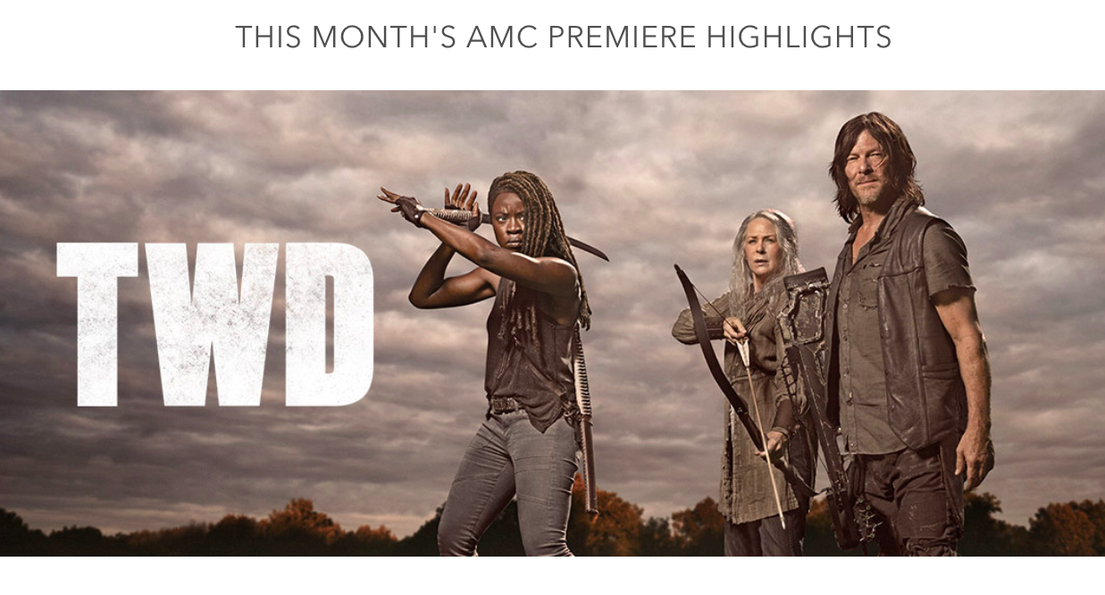 AMC Premiere walking dead