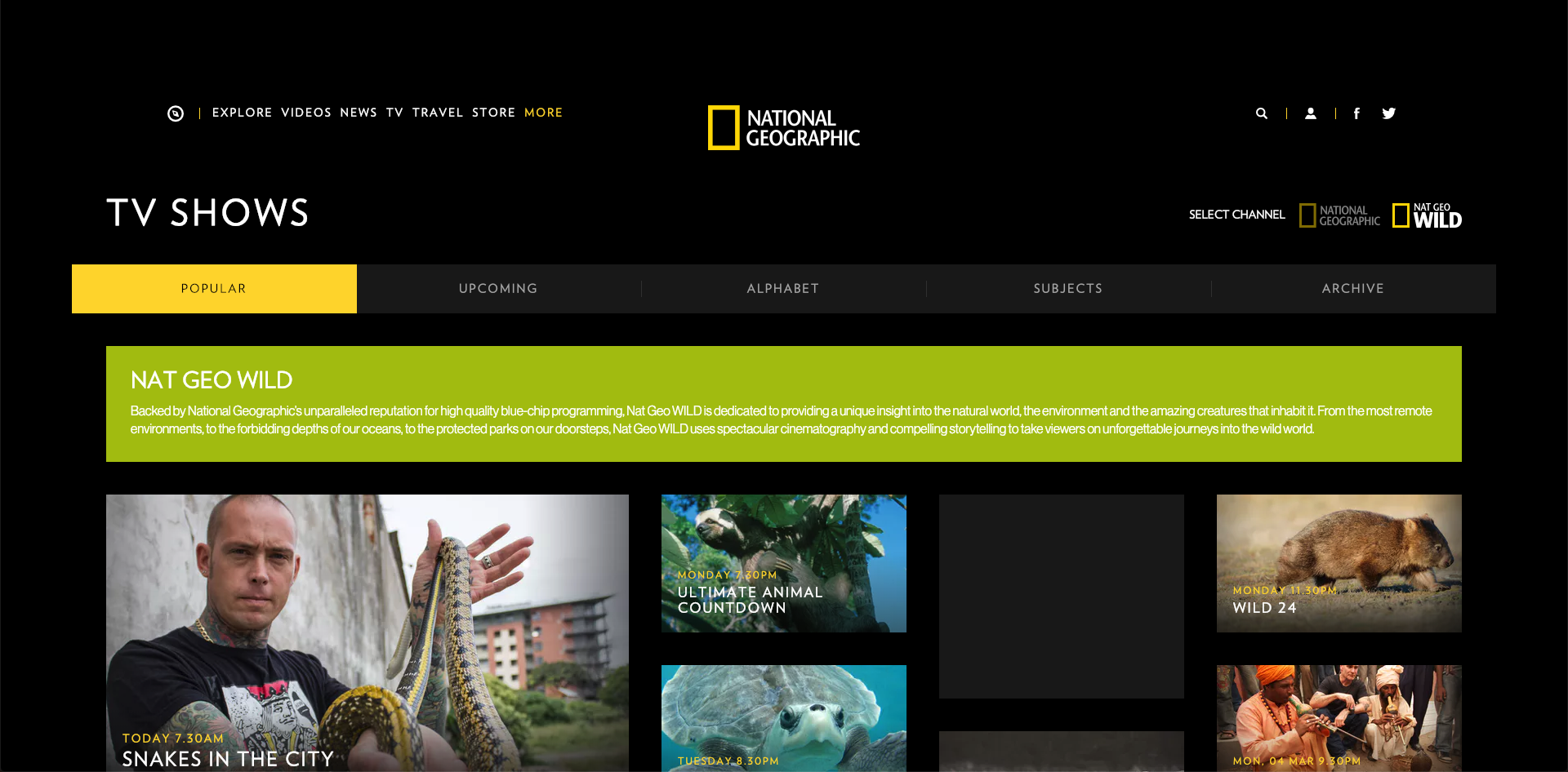 How to Watch National Geographic WILD Without Cable 2021 – Top 5 Options
