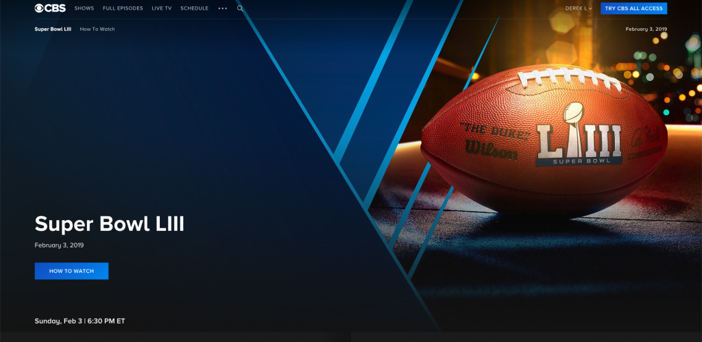 watch the super bowl on roku online streaming