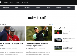 watch golf channel without cable alternatives