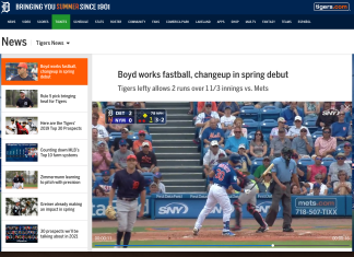 watch detroit tigers without cable