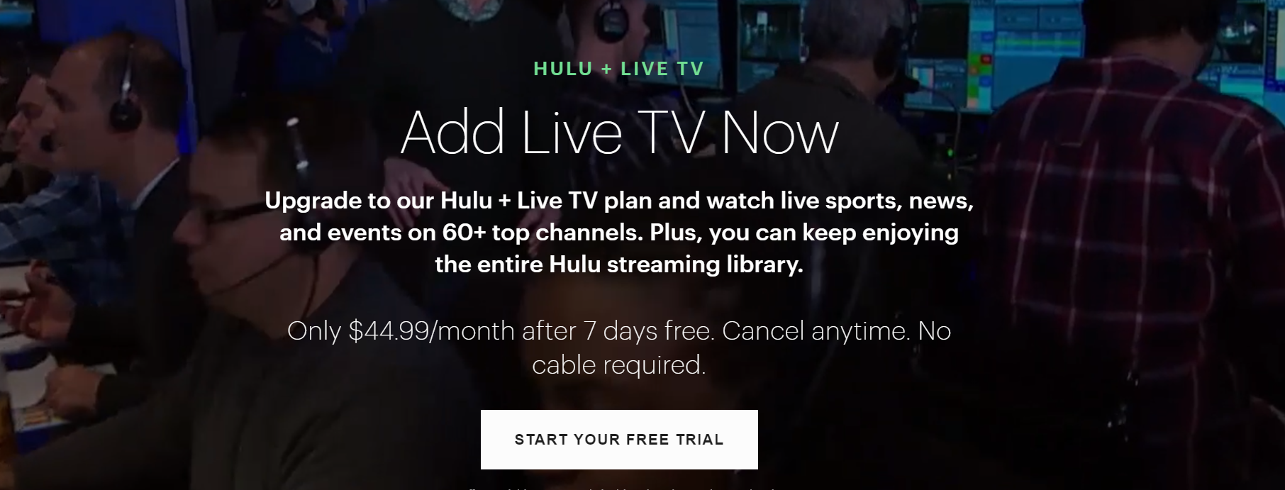 watch arizona diamondbacks online without cable hulu + live tv