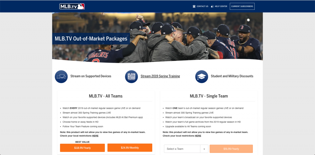 watch the chicago cubs online without cable MLB tv