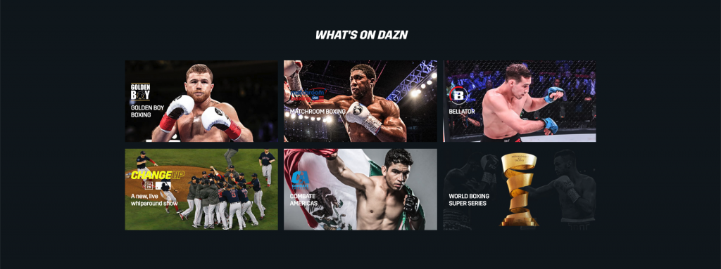 watch dazn packages plans pricing