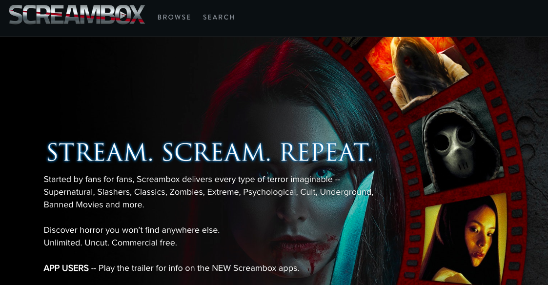 Watch Screambox