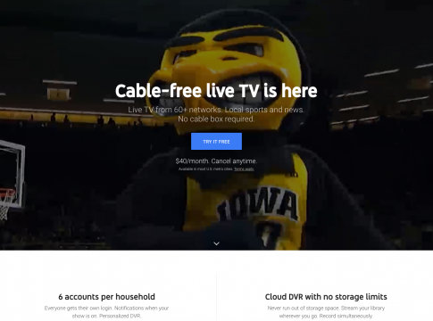 youtube tv local channels