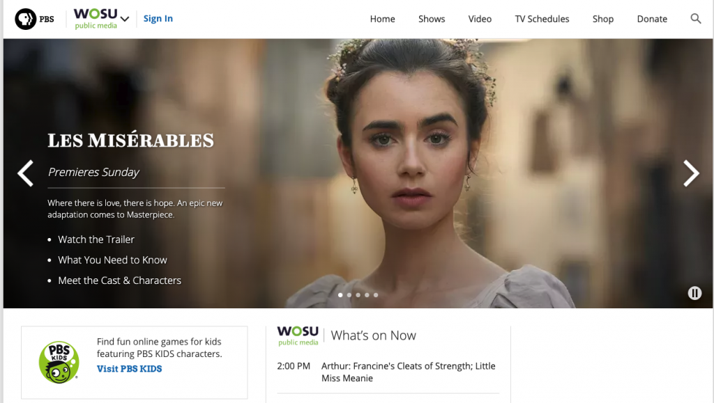 PBS best free streaming services