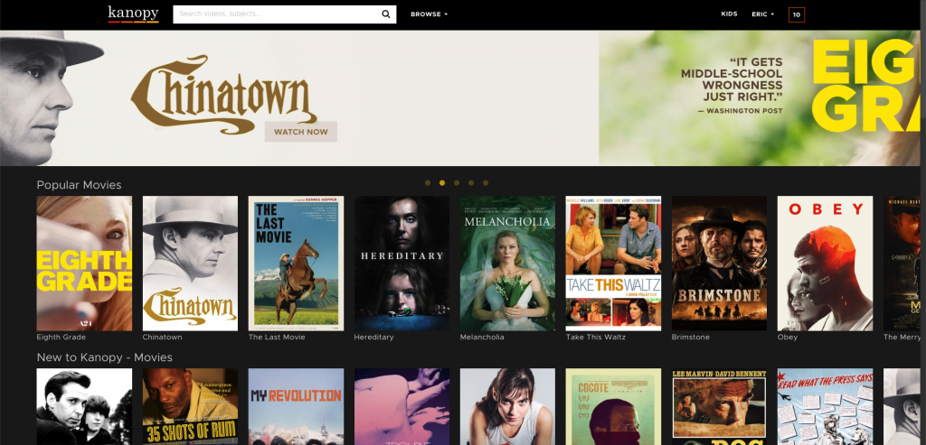 kanopy best free streaming services