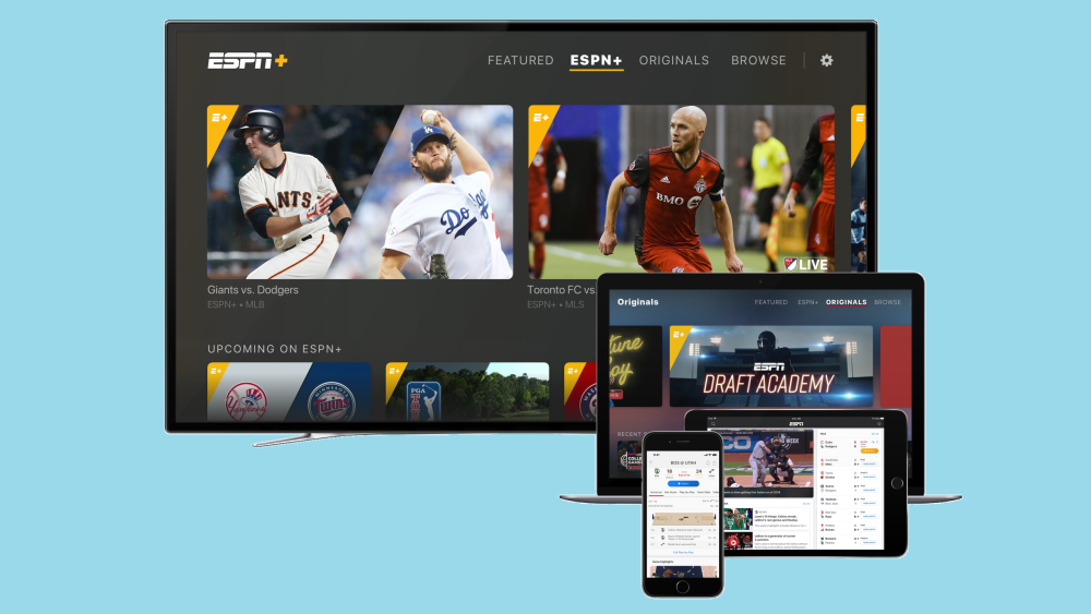 watch baseball on espn plus