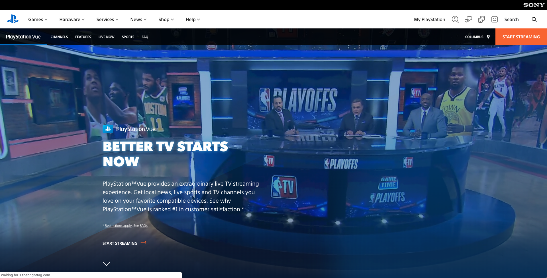 playstation vue cost price 2019 subscription