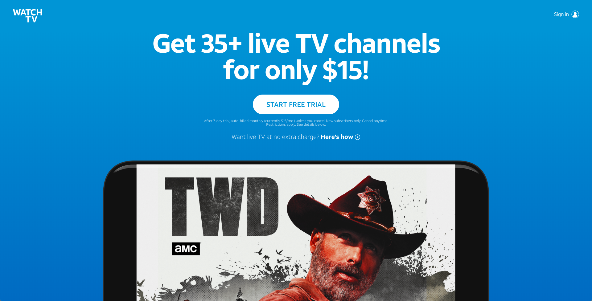 AT&T watchTV price cost 2019 subscription
