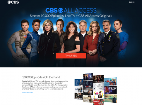 cbs all access price cost subscription 2019