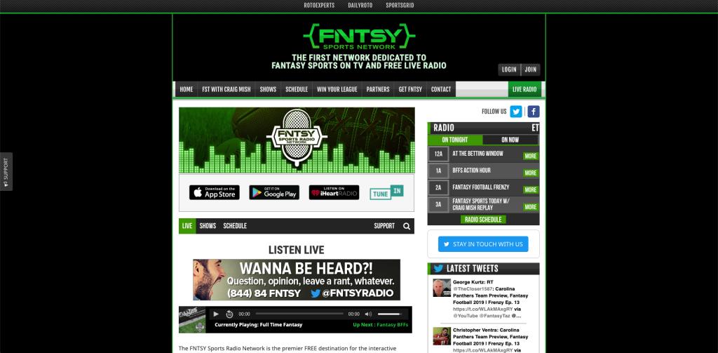 FNSTY sports radio