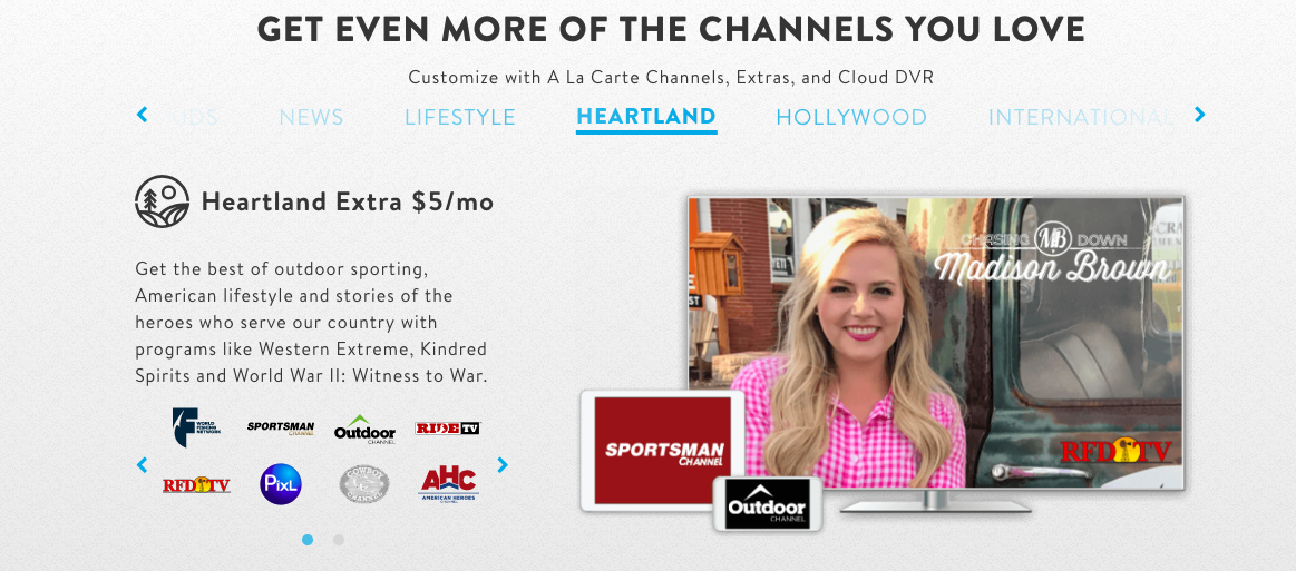 Heartland Extra on Sling TV