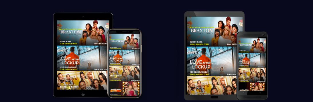 WE tv apps