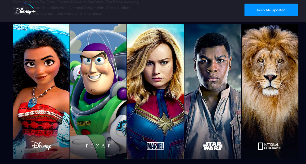 Disney's back catalog on Disney+