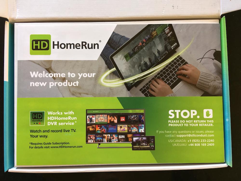 HDHomerun brochure