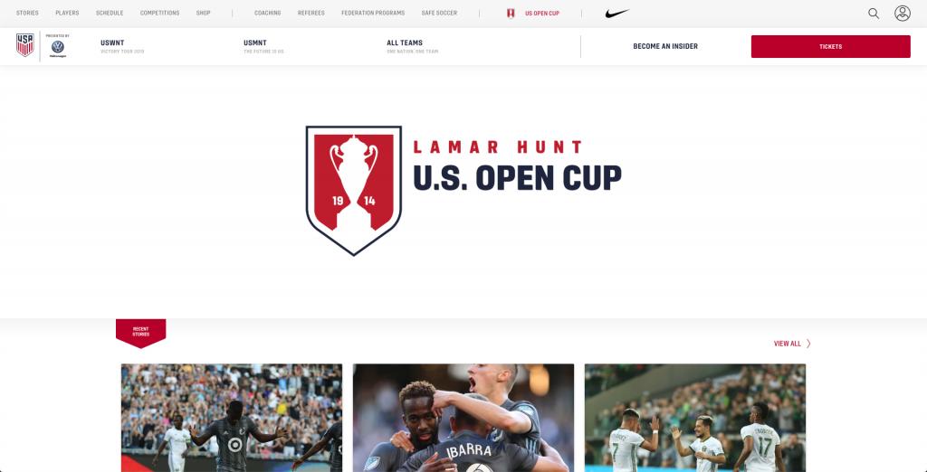 espn+ plus events calendar 2019 us open cup soccer