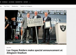 Watch the Las Vegas Raiders