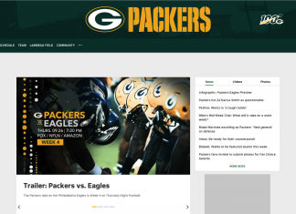 watch the green bay packers without cable