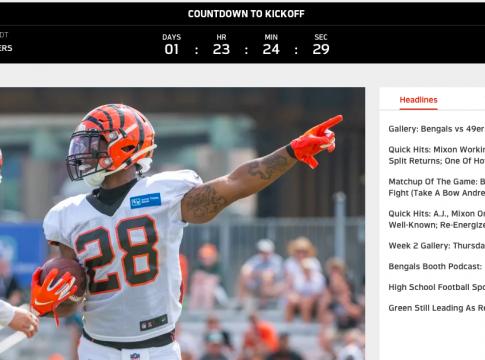 Watch the Cincinnati Bengals