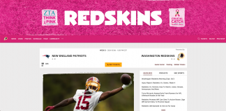 watch the washington redskins without cable