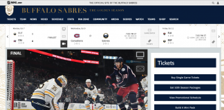 watch the buffalo sabres without cable
